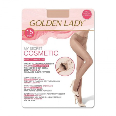 Rajstopy Golden Lady Cosmetic 15 DEN Nero
